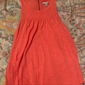 American Eagle Coral Pink Tank Top